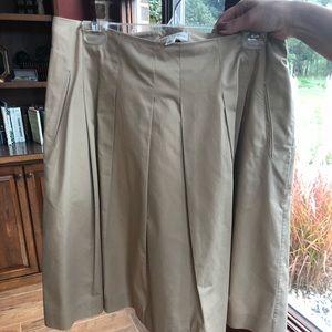 Khaki skirt from Banana Republic.